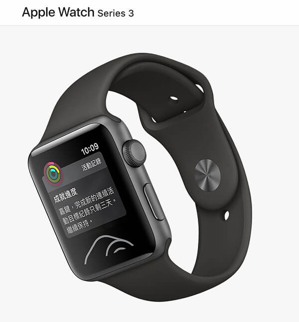 apple watch 3收購