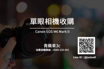 台中收購Canon EOS M6 Mark II