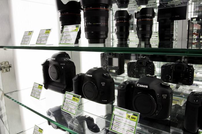 台中收購單眼相機
