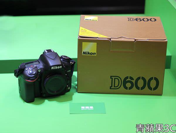 青蘋果3C - 收購Nikon D600