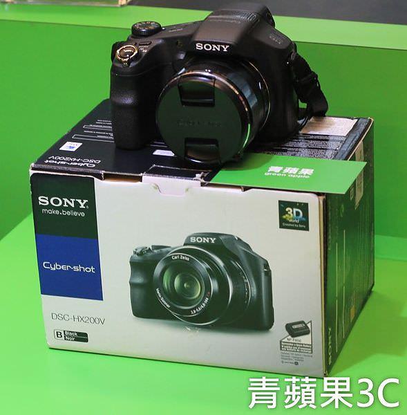 青蘋果 - SONY HX200V