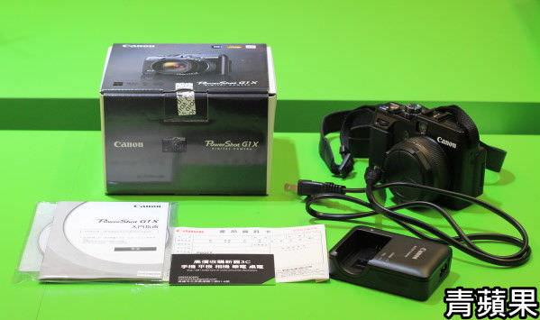 Canon G1X - 2 配件