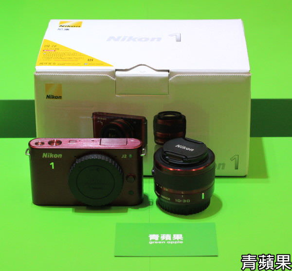 青蘋果3C-Nikon J2