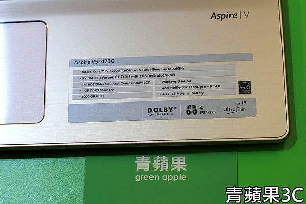 青蘋果3C - 收購 Acer Aspire V5-473G (2)