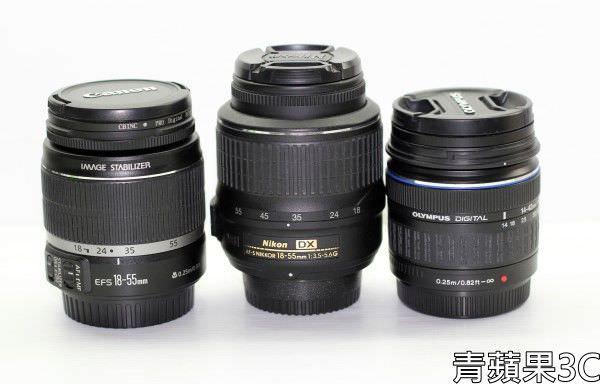高雄青蘋果3C-三顆鏡頭Canon Nikon O