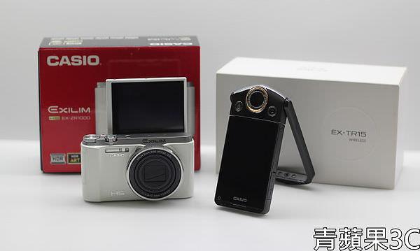 青蘋果3C - 比較 - ZR1000 TR15 自拍模式