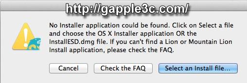 gapple3c-Diskmaker製作隨身碟OS X Mavericks 開機碟-6