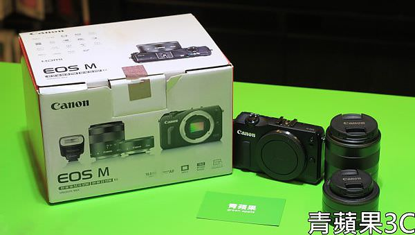 青蘋果3C 收購Canon EOS M
