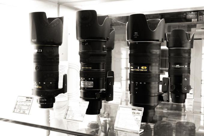 收購鏡頭 nikon鏡頭怎麼檢查?
