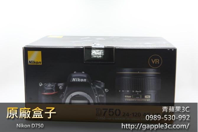 Nikon D750盒子