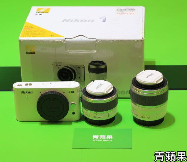 青蘋果3C-Nikon J1
