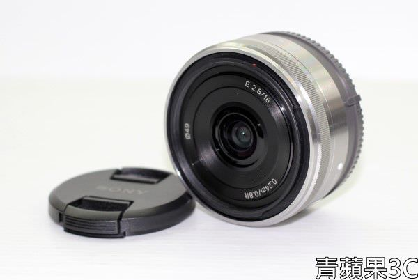 高雄青蘋果3C-SONY 16 SEL16F28 餅乾鏡 (3)
