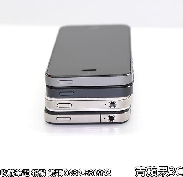 青蘋果 iphone5S外觀比較 - 7
