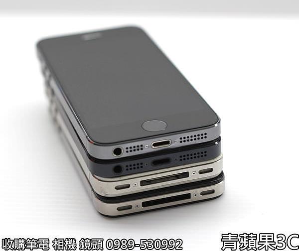 青蘋果 iphone5S外觀比較 - 6