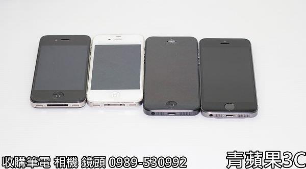 青蘋果 iphone5S外觀比較 - 44ˇˋ