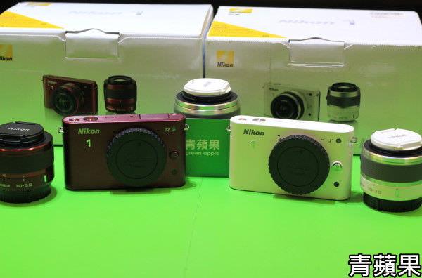 青蘋果3C-Nikon J1 J2-開箱