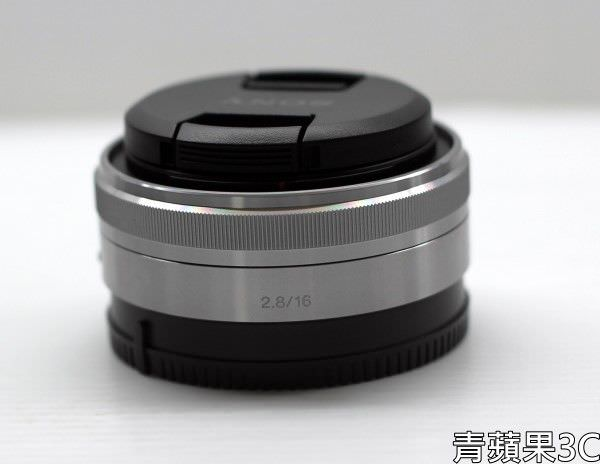 高雄青蘋果3C-SONY 16 SEL16F28 餅乾鏡 (2)
