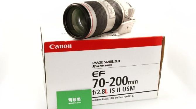 收購鏡頭 怎麼辨認Canon鏡頭的年份 – Canon EF 70-200mm f2.8L IS II USM