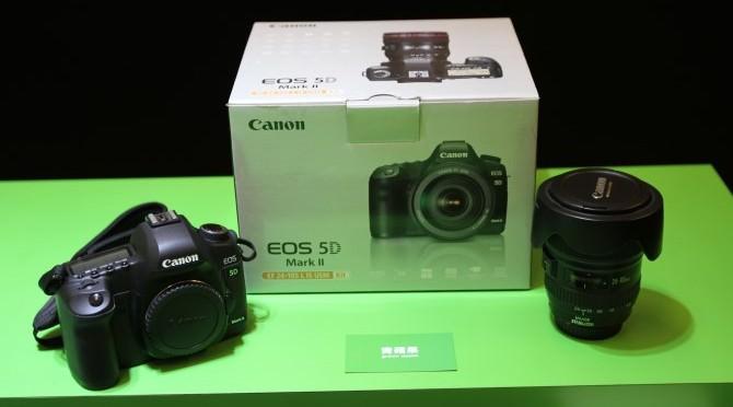 台南收購單眼相機 Canon EOS 5D Mark II – 相機收購重點說明