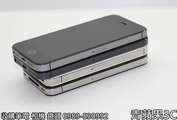 青蘋果 iphone5S外觀比較 - 5
