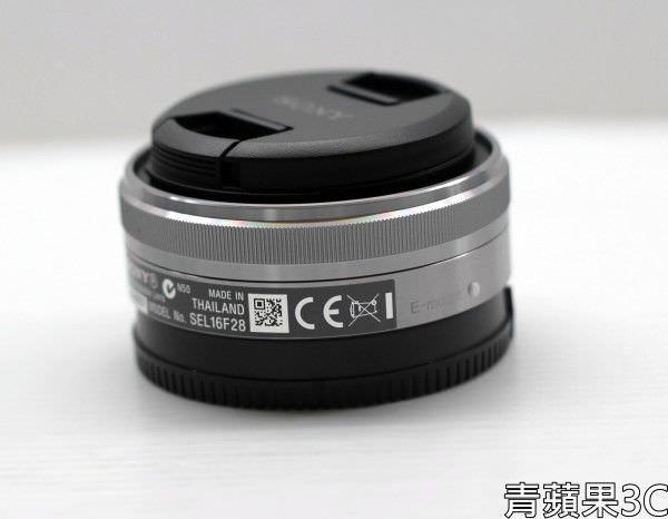 高雄青蘋果3C-SONY 16 SEL16F28 餅乾鏡