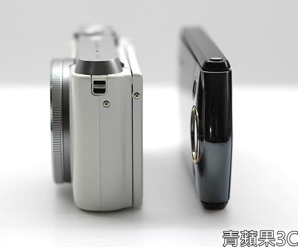 青蘋果3C - 比較 - ZR1000 TR15 側面比較