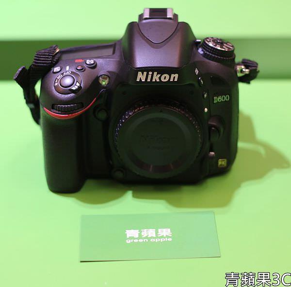 青蘋果3C - 收購Nikon D600 - 1